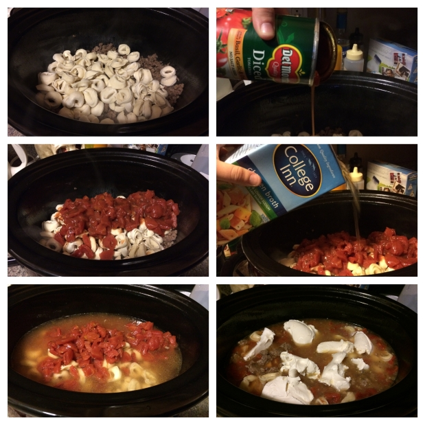 Sausage & Tortellini Soup 1