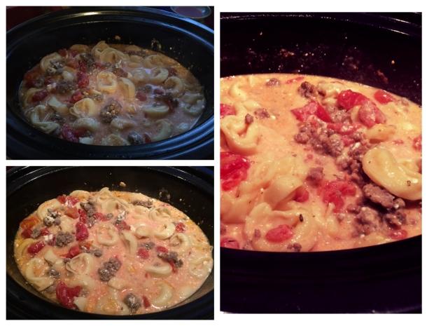 Sausage & Tortellini Soup 2