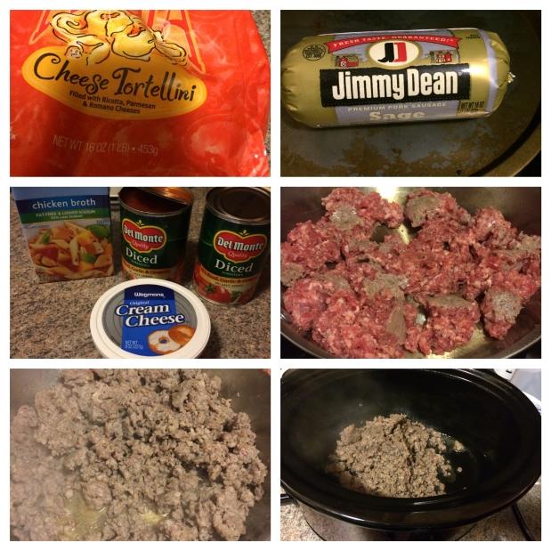 Sausage & Tortellini Soup
