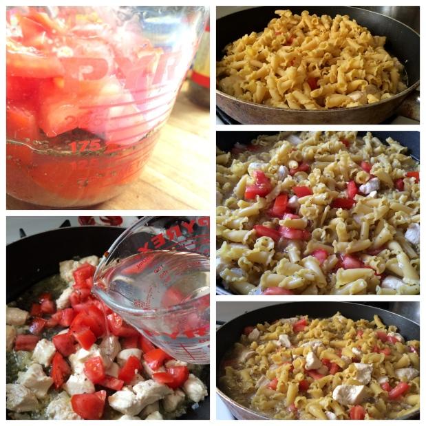 1pot spicy chicken pasta 1