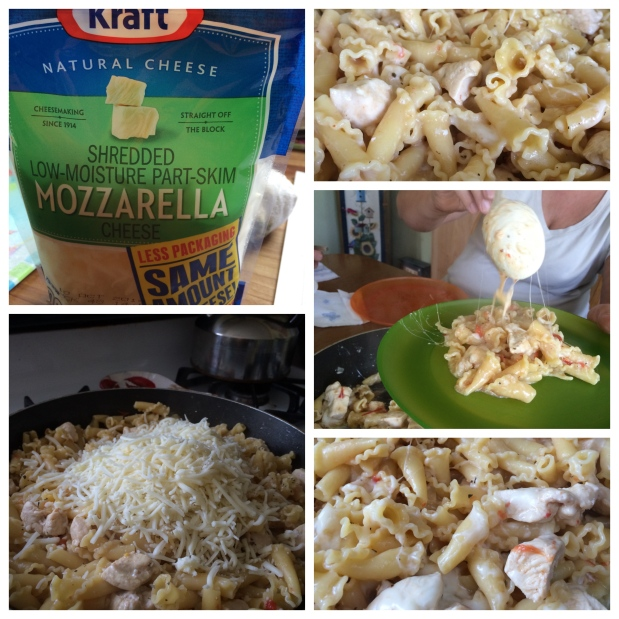 1pot spicy chicken pasta 2
