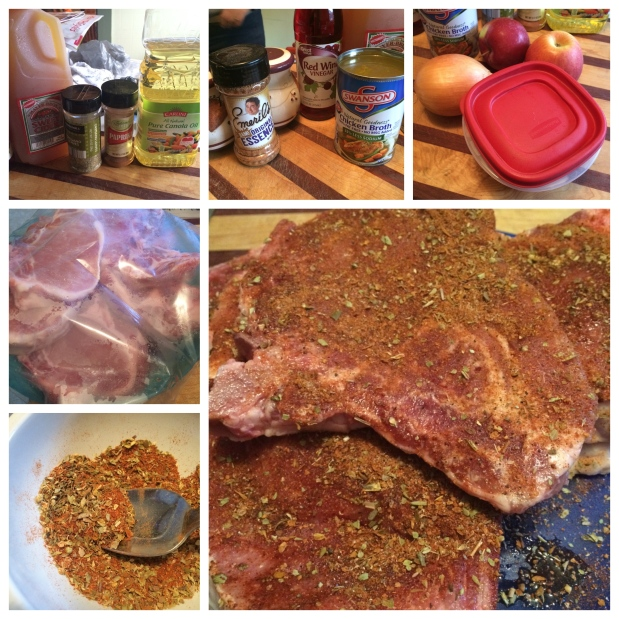 Cider Braised Pork Chops